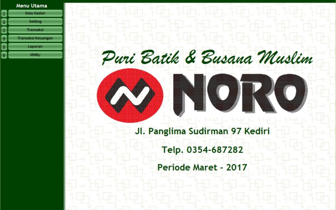 Aplikasi Point of Sales Toko Noro Kediri