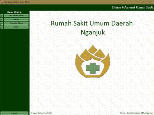 Sistem Informasi Administrasi Pasien, Billing System dan Inventory Farmasi RSUD Nganjuk