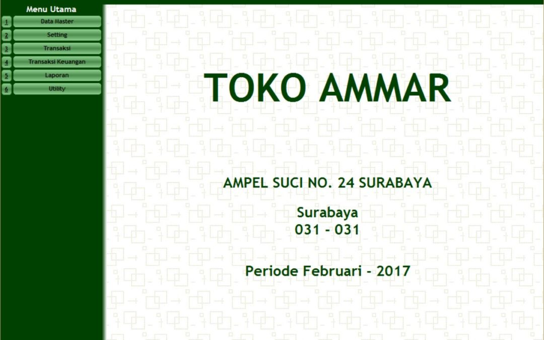 Aplikasi Point of Sales Toko AMMAR Ngampel Surabaya