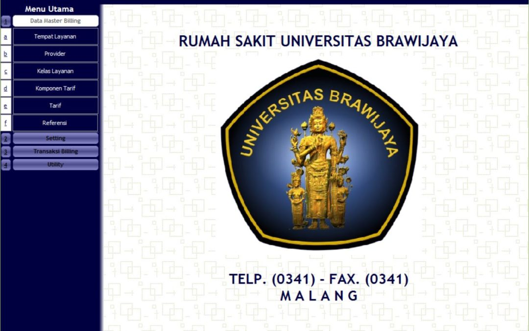 Sistem Informasi Administrasi Pasien, Billing System dan Inventory Farmasi RS Universitas Brawijaya Malang